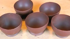 How to make Balloon Chocolate Bowls 風船チョコレートお椀