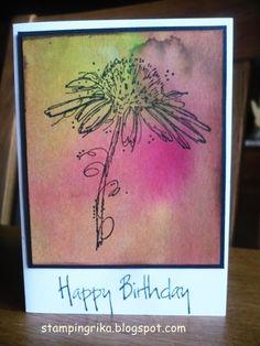 Blumenstempel sind von/ de bloemenstempels zij van darkroom door    schau doch mal vorbei bei  Freutag  Fashionable Stamping ...
