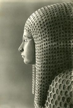 Outer coffin of Queen Merytamun, photograph by Harry Burton, 1929 (via Old Pics Archive on Twitter)