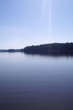 A Finnish lake in the morning