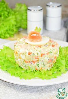 """Салат """"Фрегат"""" - кулинарный рецепт"""