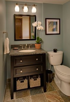 1000 ideas for small bathrooms on pinterest bathroom for Nice small bathroom ideas