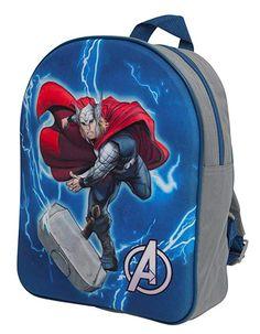 Thor Marvel The Avengers Backpack  Thor  Marvel  Backpack  MarvelMerch   Superhero   ac3f541d8a67d