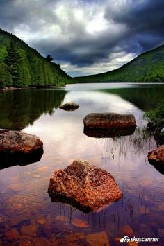 Eagle Lake, Acadia National Park, Bar Harbor, ME