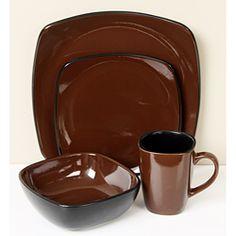 Corelle Dinnerware Sets | Corelle Hearthstone Forest 16-piece Dinnerware Set | Overstock.com & Corelle Dishes u0026 Corelle Dinnerware Sets | Something For Everyone ...