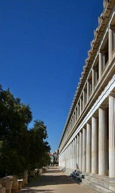 Ancient Agora - Athens, Greece
