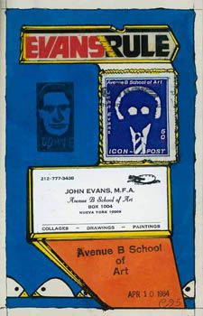 John Evans April 10, 1984