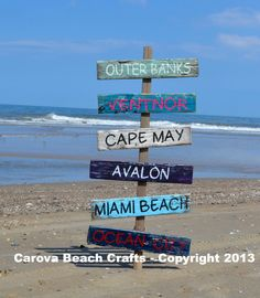 Outdoor, Yard, Customized, Personalized, Beach, Coastal, Nautical, Directional, Arrow, Drift Wood, Hand Painted Signs, Rustic