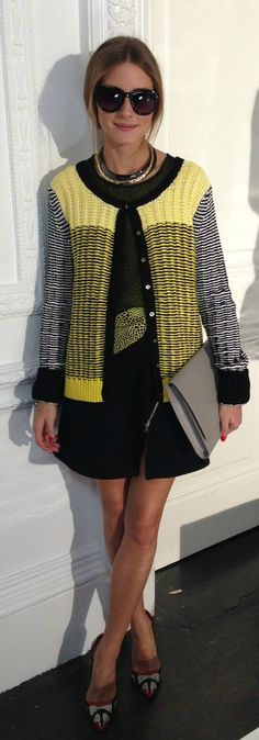 London Fashion Week: Olivia Palermo at the Markus Lupfer Presentation.