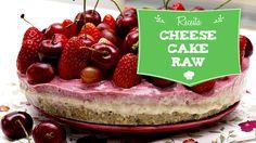 Cheesecake raw de frutos vermelhos