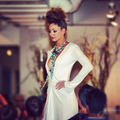 Fashion is my passion #necklace #catwalk #gown