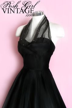 1950's Classic Halter Dress