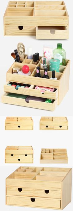 32 Best wood makeup organizer images