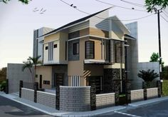minimalist home exterior design   Home Design Ideas