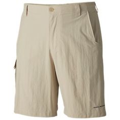 Do it all in these Columbia® PFG™ Bahama Shorts for Men. Fishing, playing, strolling the beach, even swimming—these Columbia shorts are the perfect choice for a day on or near the water! Fishing Shorts, Secure Storage, Jeans Brands, Poplin Fabric, Short Outfits, Fossil, Columbia, Bermuda Shorts, Khaki Pants