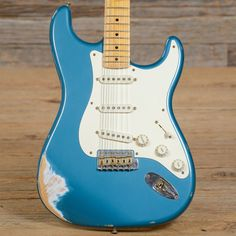 Fender Custom Shop 1956 Stratocaster Relic Teal Green Metallic 2005 (s353)