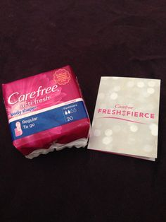 Cute little package of carefree liners!