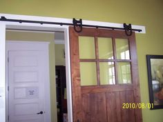 Interior Barn Door With Glass interior barn door with roof design | barn conversions | pinterest