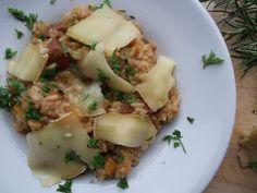 Cornerstone Cheese Risotto with Butternut Squash, Chorizo and Rosemary