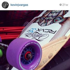 The Arbiter KT longboard by Original Skateboards with an Otang wheel setup is the freeride choice of IG user KevinJVargas. What's your freeride setup?