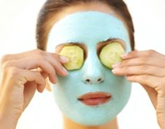 DIY Face Masks for: Dry, chapped, oily or sensitive skin, breakouts, puffy eyes and exfoliation!! Definitely trying a few of these...