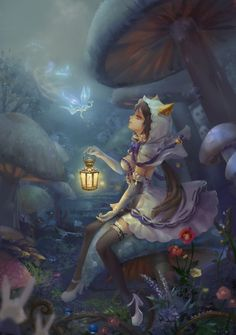 Fairy #fantasy #art #painting