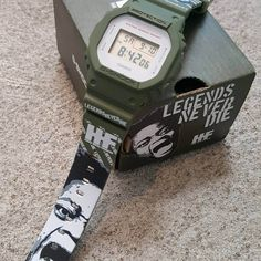 Harold Hunter Foundation x G-Shock Legends Never Die Limited Edition Watch G Shock Watches, Casio G Shock, G Shock Limited, Legends, Foundation, Product Launch, Fan, Watch, Accessories