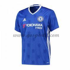 maillot de foot Premier League Chelsea 2016-17 maillot domicile