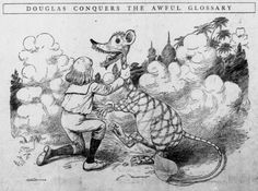 Illustrations from Walt McDougall's Good Stories for Children, 1902-05  Douglas Conquers the Awful Glossary
