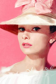 Audrey   drawing by Dave Seguin