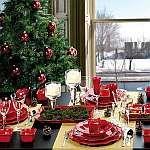 krásne nápady na vianočné stolovanie
