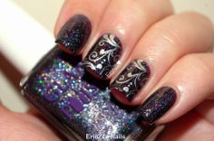 Glam Polish The Diamonds are a Girl's Best Friend Collection swatches and review