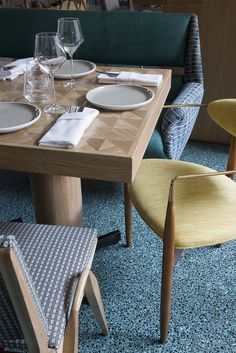 KELLY WEARSTLER | INTERIORS. Viviane Restaurant at the Avalon Hotel Beverly Hills