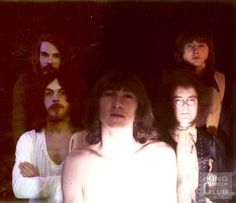 King Crimson, with Greg Lake, soon to be part of Emerson Lake and Palmer