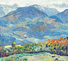Cannon Mt., White Mts., Franconia - George Loftus Noyes
