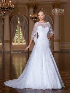 Jasmim 05 com pelerine  #vestidodenoiva #vestidosdenoiva #weddingdress #weddingdresses #brides #bride