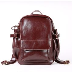 955f6873cecc Classic Vintage Backpack Women 2017 Bag Oil Wax Cowhide School Bags For  Teenagers Girls Fashion High Quality Travel Backpacks