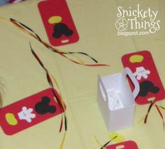 Snickety Things: Mickey Mouse party games