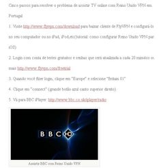 Assistir TV Online com Reino Unido VPN em Portugal ou no Brasil