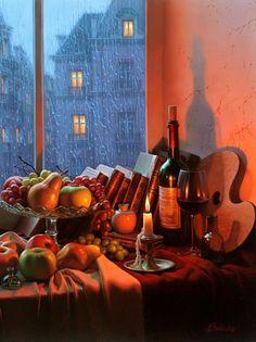 Paintings by artist Alexei Butirskiy