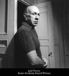 PUERTO RICAN ACTOR AND LEGEND Jose Ferrer.
