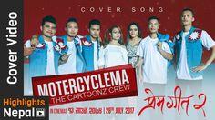 MOTORCYCLE MA | New Nepali Movie PREM GEET 2 Club Song  Ft. The Cartoonz Crew & Aaslesha Thakuri