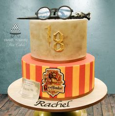 Harry Potter themed cake - For all your cake decorating supplies, please visit craftcompany.co.uk