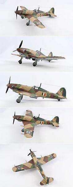 Italian Stallion Pt.2...1/48 Fiat G.55 Centauro Aeronautica Nazionale…