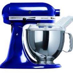 Cobalt Blue Kitchen | My Cobalt blue kitchen aid :)