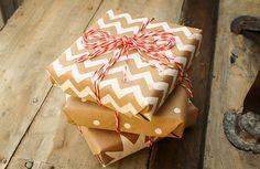 Новогодняя упаковка подарков своими руками: 25 идей с крафт-бумагой   Sweet home