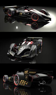 ♂ The Lamborghini LMP-F concept