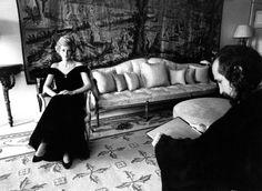Princess Diana Rare portrait sitting in Kensington Palace