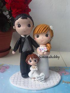 cake topper sposi personalizzati in fimo https://www.facebook.com/pages/Simonahobby-creazioni-fimo-e-non-solo/303780326362418