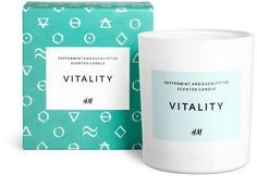 Scented Candle - Peppermint Eucalyptus